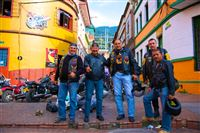 Bikers, Bogota old city