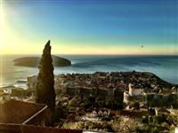 A last view of Dubrovnik