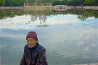 at the side of the pond, Confucian Temple