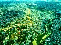 Dar es Salaam from above