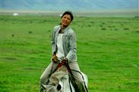 Mongolia, Ajunna the horse girl, august 2007