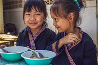 North Thailand, december 2011, orphan girls