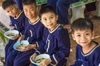 North Thailand, december 2011, orphan boys