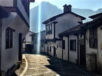 Amasya, sunlight in the early morning